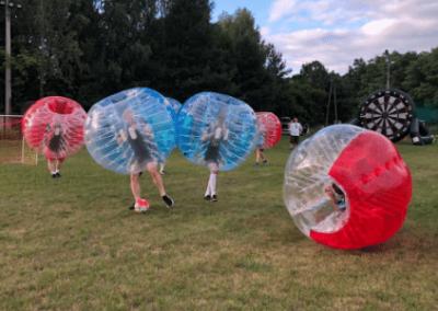 Bubble Football + Foot dart na wieczorze kawalerskim niedaleko Warszawy
