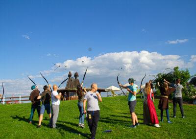 Gra fabularna Robin Hood z wykorzystaniem sprzętu do Archery Tag